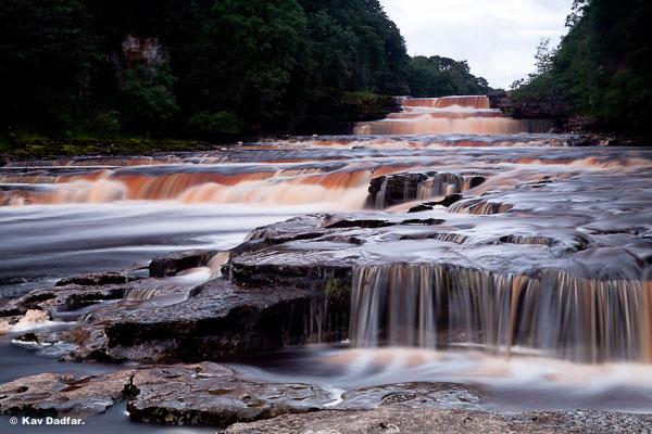 Как фотографировать водопады