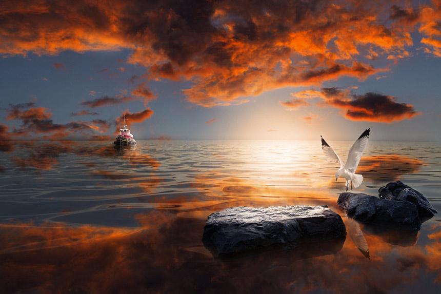 Красивое фото с морем