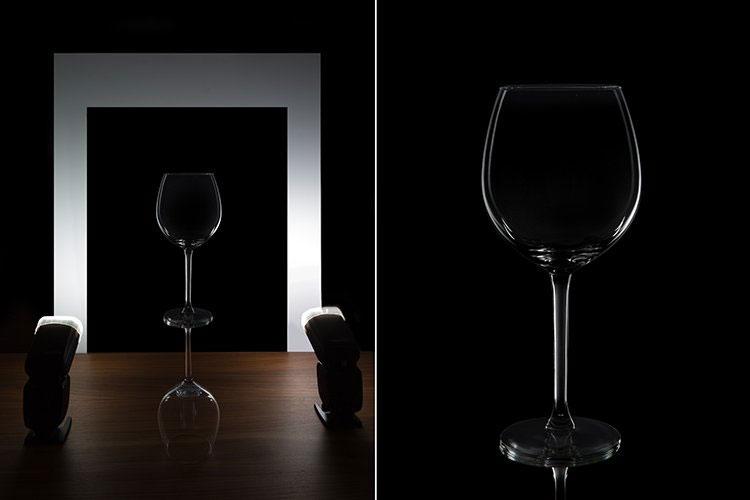 Схемы света для стекла