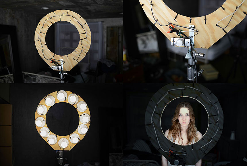 Световое кольцо для фотосъемки своими руками