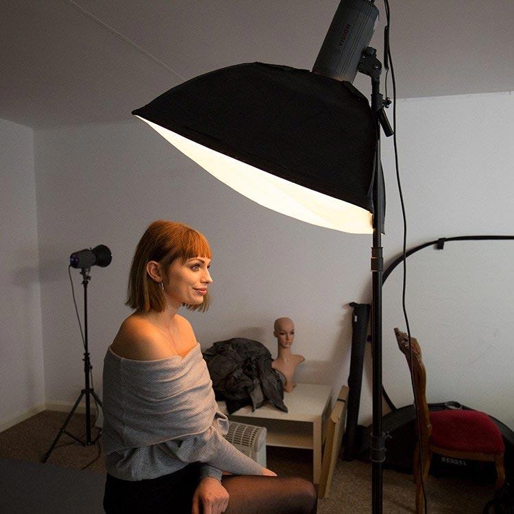 студийный портрет