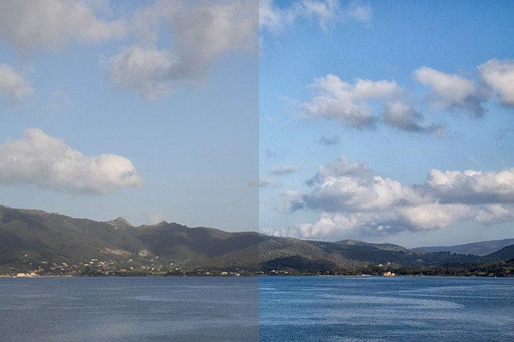 обработка фото в фотошоп до и после