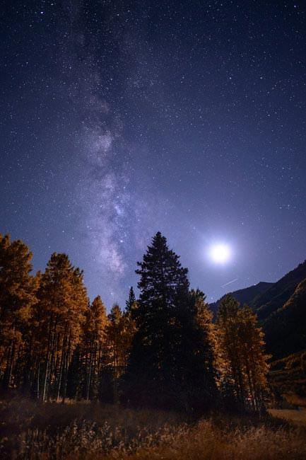 Как настроить фотоаппарат для съемки звездного неба
