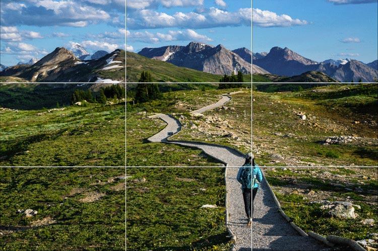 композиция при съемке пейзажей