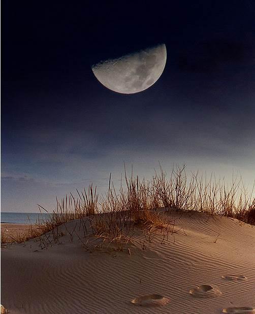 гость как сфотографировать луну с резкостью неё все